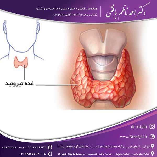 غده ی تیروئید دکتر احمد ناظم بافقی